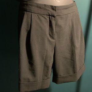 NWOT Express Editor black bermuda shorts (7/$35)